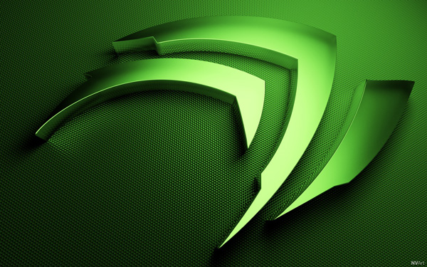 Fond d'écran 3 Griffe NVIDIA
