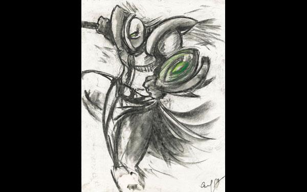 NVIDIA Got Art by Gabriel Ortiz Duran