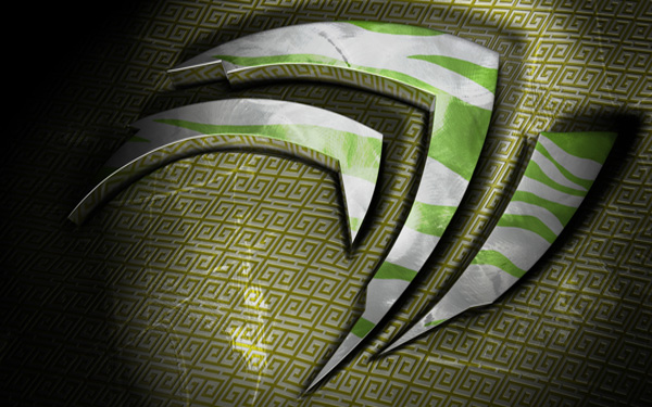 Fond d'écran 3« L'année du tigre » NVIDIA